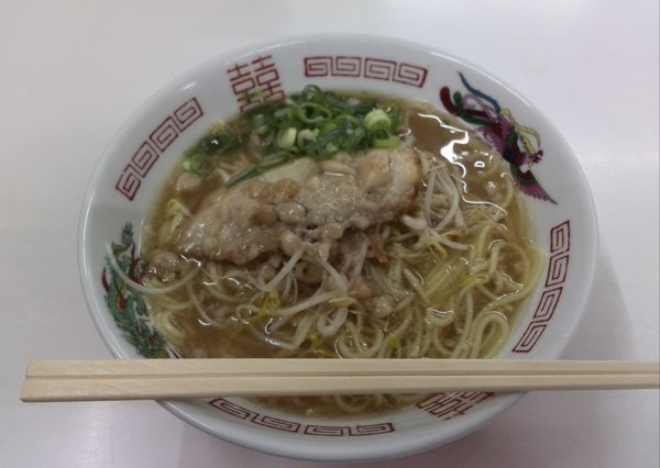 「中華そば(並) 600円」@寿栄広食堂の写真