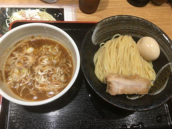 「味玉つけめん900円」@麺屋 睡蓮の写真