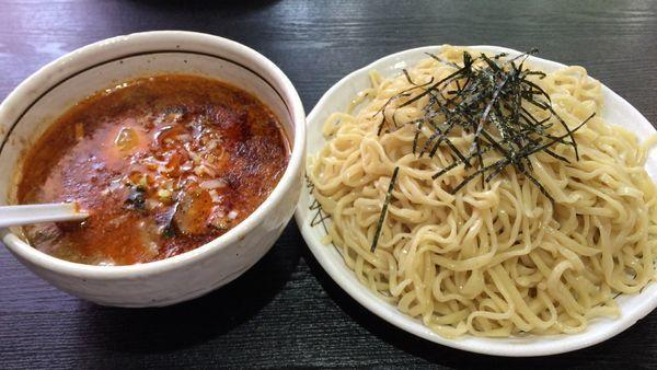 「坦々つけ麺・大」@桃天花の写真