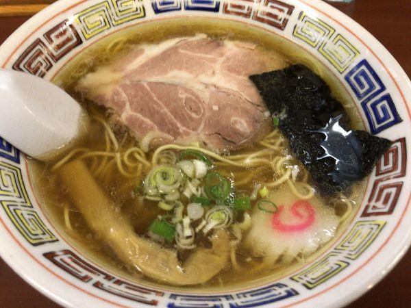 「支那そば650円」@支那そば・横浜タンメン 阿波家の写真