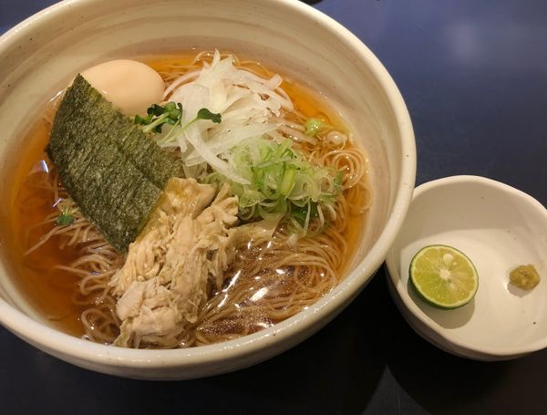 「味玉汁そば(¥890)」@熊本まぜそば ごくまるの写真