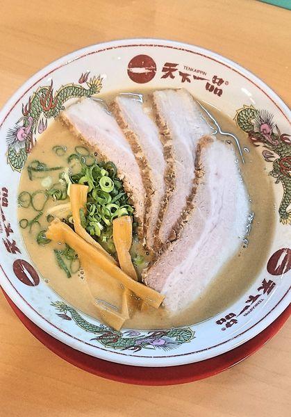 「チャーシューメン」@天下一品 太田店の写真