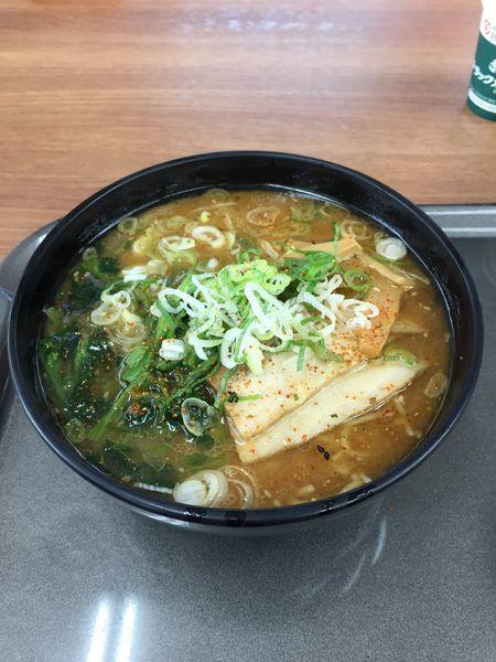 「信州味噌のラーメン」@東部湯の丸サービスエリア(上)の写真