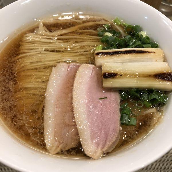 「鴨らぁ麺(¥780)」@らーめん 鴨to葱の写真
