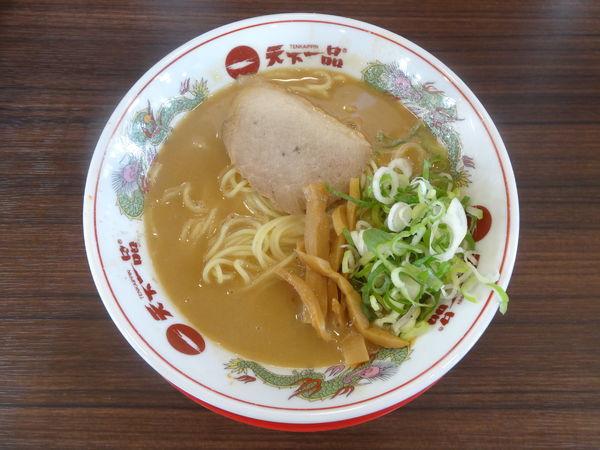 「ラーメン(こってり並・普通麺)」@天下一品 久御山店の写真