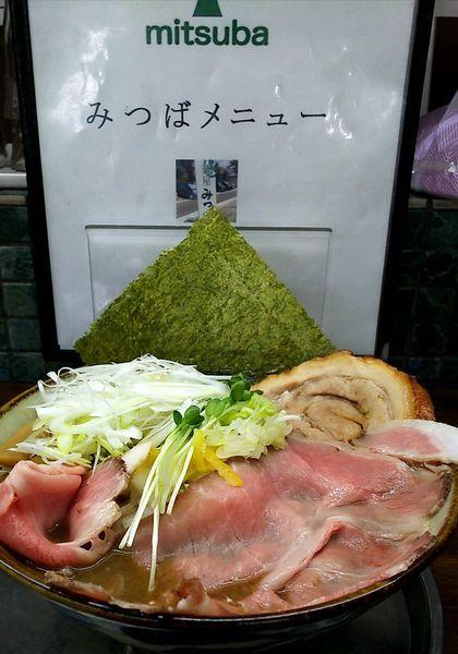 「特製魚介ラーメン(限定)」@麺屋みつば+クローバーの写真