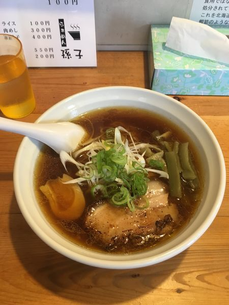 「醤油ラーメン」@らーめん孫子の写真
