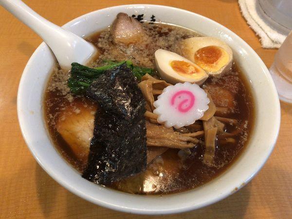 「特製正油チャーシュー麺+チャーハン」@支那そば 勝丸 目黒本店の写真
