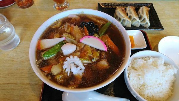 「広東麺」@ラーメンフロンティアCAMO-MEの写真