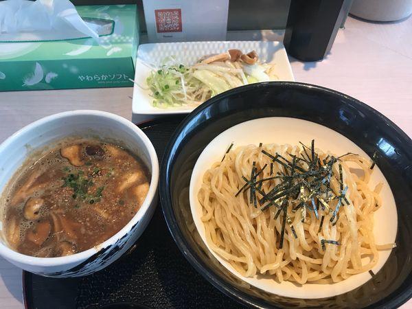 「きのこのつけ麺 830円」@味噌らーめん専門店 味噌三礎の写真