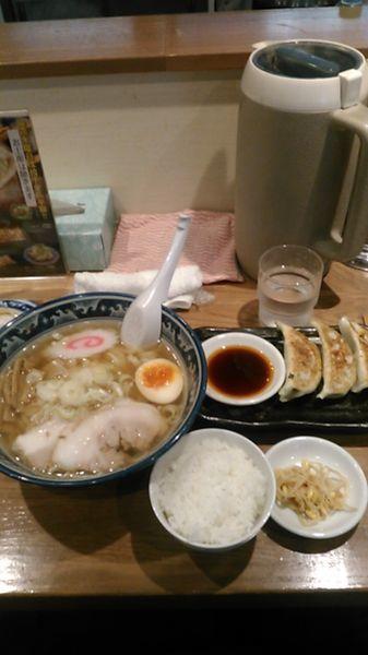 「Bランチ 880円 ラーパス特典 100円引き」@手打ちらーめん 麺之介の写真