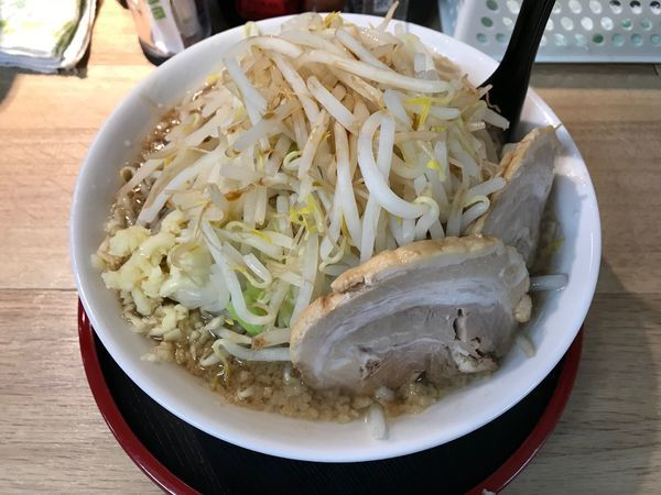 「富味ラーメン(小) 野菜大盛り」@麺屋 富味の写真