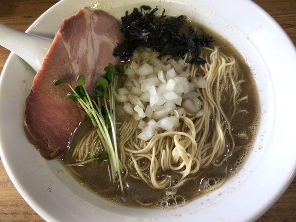 「煮干醤油そば」@へべれ家の写真