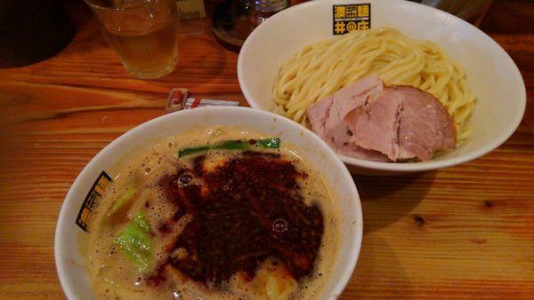 「辛辛濃菜つけ麺920円」@濃菜麺 井の庄の写真