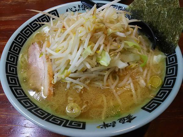 「新化豚骨らーめん (麺大盛り)」@東池袋大勝軒 新化家の写真