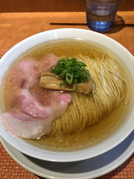 「塩煮干そば ¥700」@柴崎亭の写真