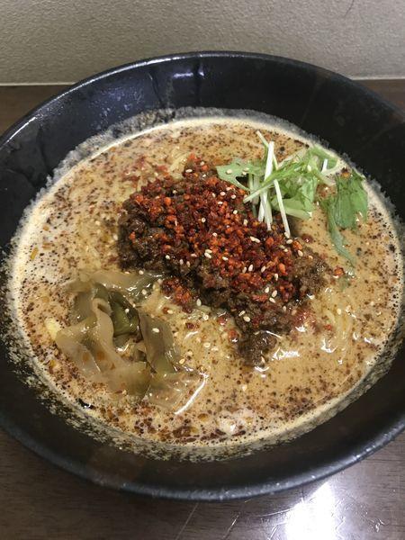「こだわり坦々麺」@ごまやの写真