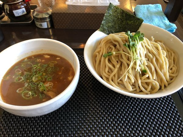 「つけ麺 大盛 880円」@ブラウン製麺所の写真