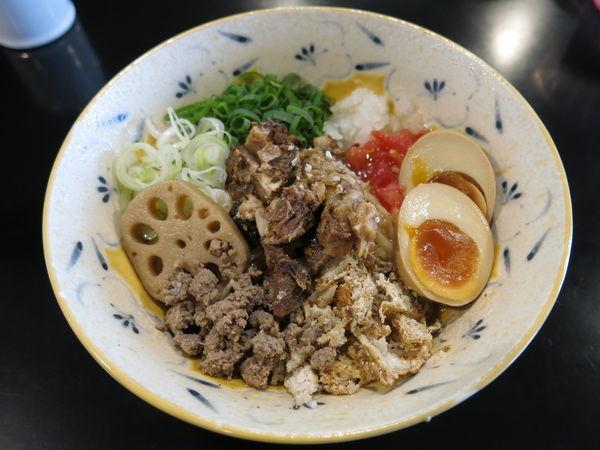 「味噌油そば:950円」@みそ味専門マタドールの写真