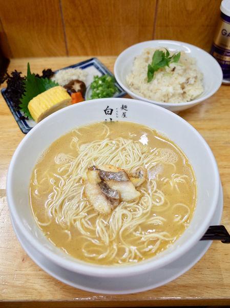 「鯛白湯…940円、鯛炊き込みご飯…プラス200円」@麺屋 白神の写真