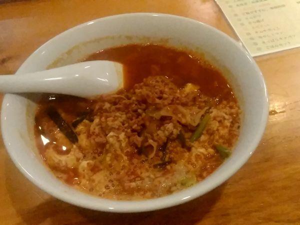「極辛麺2丁目(並盛・130g・中辛)780円」@Luckyカレーの写真
