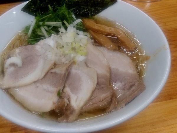 「醤油チャーシューメン(大盛・240g)933円」@我流麺家~JIN~の写真