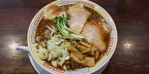 「サバ醤油そば」@サバ6製麺所 京橋店の写真