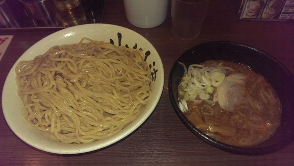 「味噌つけ麺、特盛」@つけ麺 小川流 多摩貝取店の写真