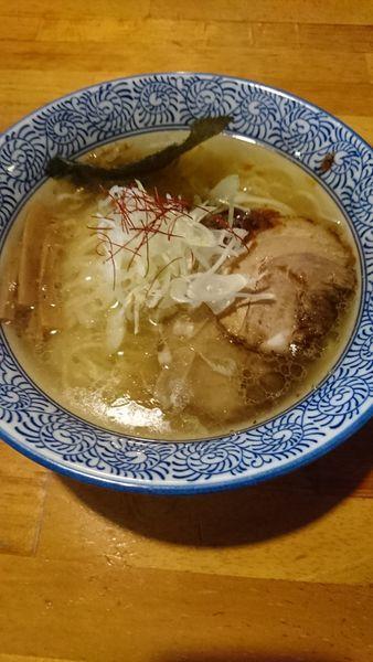 「海老塩ラーメン」@麺処 門つるの写真