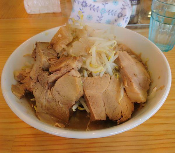「ど豚骨ラーメン 豚増し ショウガ」@宮二郎の写真