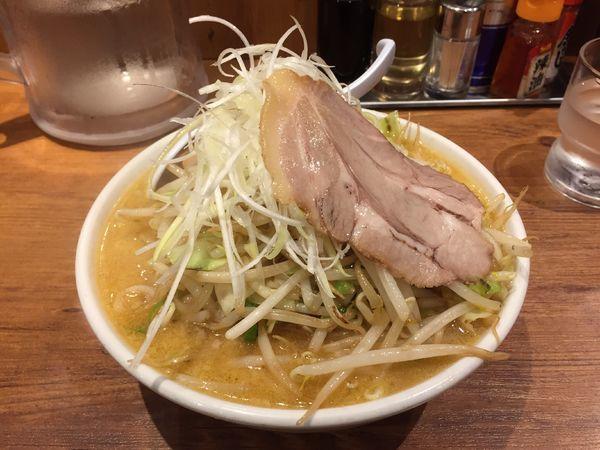 「野菜たっぷり味噌ラーメン」@ラーメン 嘉祥の写真