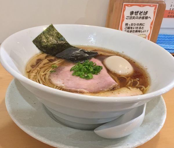 「醤油ラーメン」@麺屋BISQの写真