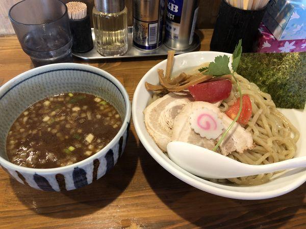 「濃厚つけ麺」@麺屋 蕃茄の写真