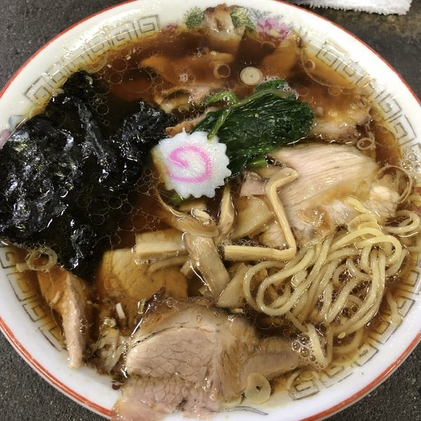 「青島チャーシュー麺」@青島食堂 宮内駅前店の写真