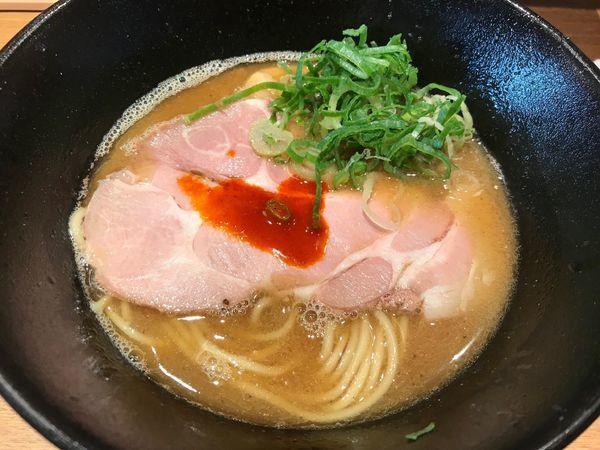 「煮干鶏白湯ラーメン 780円」@キラメキノ青空 -四条ムロマチ-の写真