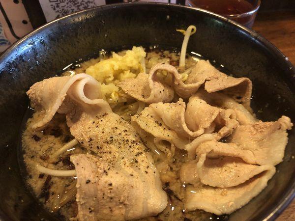 「ど根性醤油 700円 肉増し 180円」@神戸ちぇりー亭 長田店の写真