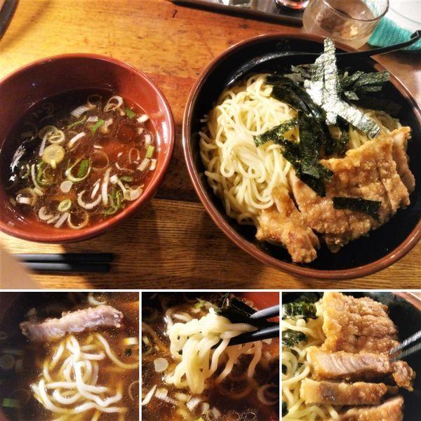 「ざる排骨つけ麺(大盛)  1000円」@万世橋酒場 秋葉原本店の写真