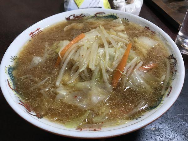 「味噌ラーメン 500円」@月美食堂の写真