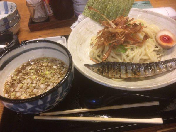 「さんまつけ麺」@さんまでGO!の写真