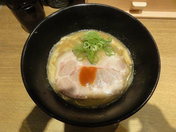 「煮干鶏白湯らーめん」@キラメキノ青空 -四条ムロマチ-の写真