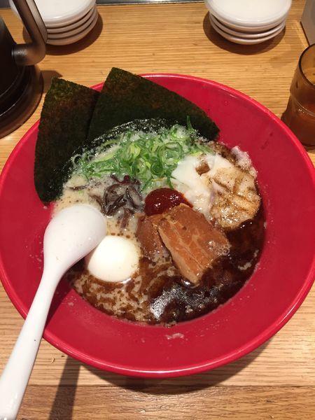 「特製赤丸 ¥1250」@博多一風堂 本厚木ミロードイースト店の写真