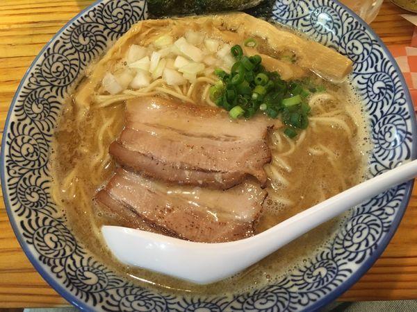 「濃厚煮干し蕎麦」@麺屋 徳星の写真