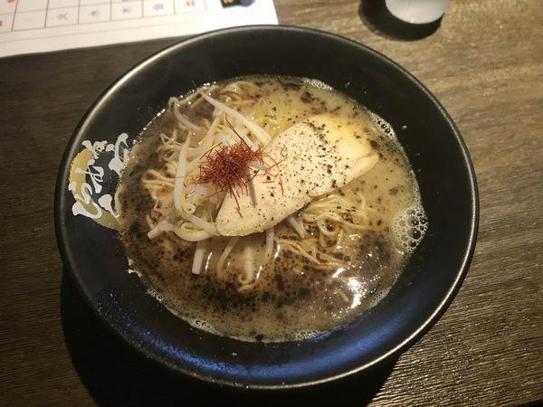 「黒鶏白湯」@麺屋 白宗の写真