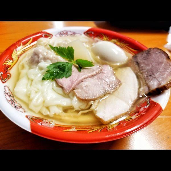 「天国屋 焙煎うるめ太刀魚煮干麺」@大つけ麺博  10周年特別企画 ラーメン日本一決定戦!!の写真
