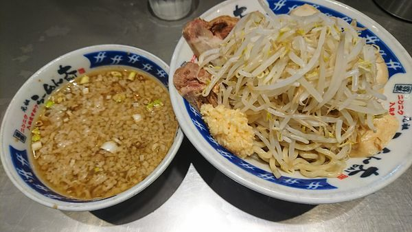 「つけ麺+豚(940円)」@らーめん大 蕨店の写真