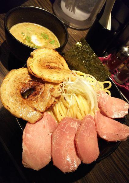 「魚介豚骨チャーシューつけめん(大盛り)」@麺屋 ほたるの写真