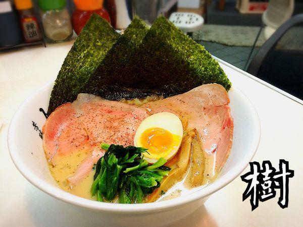 「特製煮干ラーメン¥850」@芳醇煮干 麺屋 樹の写真