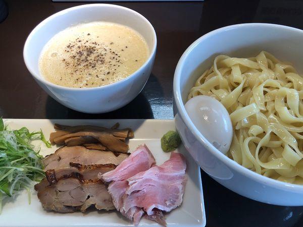 「特製つけ麺1030円」@麺屋三一五の写真