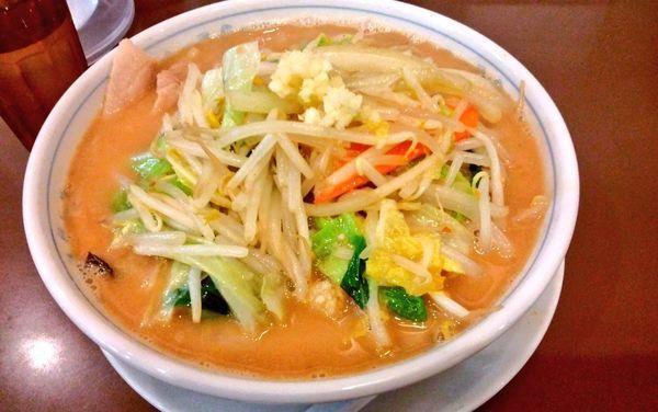 「毎日野菜味噌たんめん」@たんめん専門店 百菜の写真