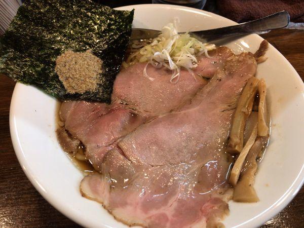 「鶏醤油らぁめん600円」@Soupmenの写真
